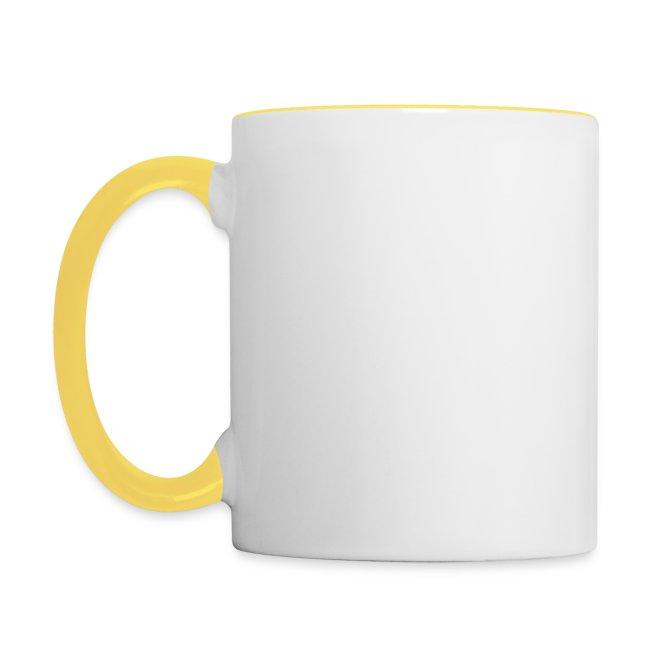 Vorschau: gluck - Tasse zweifarbig