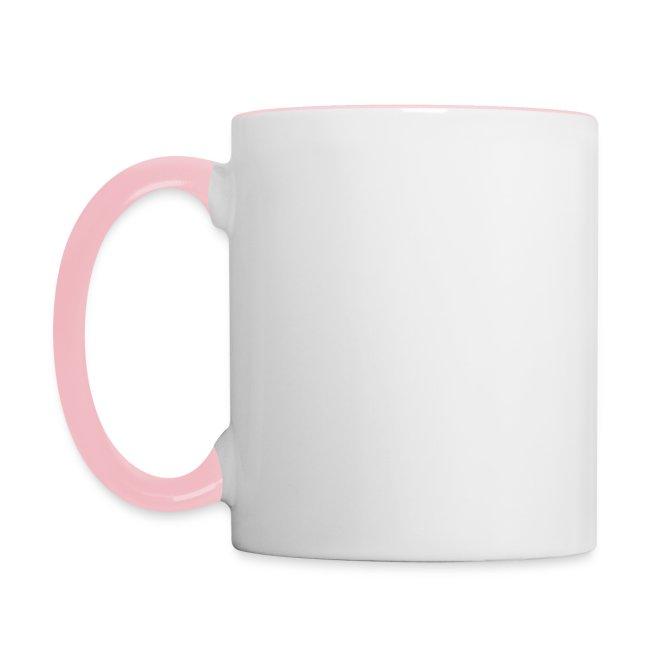 Vorschau: Fellnasen kuessen besser - Tasse zweifarbig