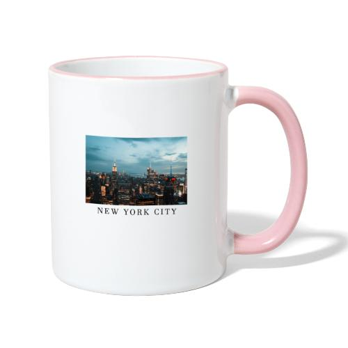 NEW YORK CITY, new york, new york photo, big city - Contrasting Mug