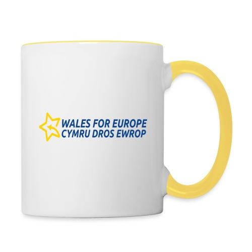 Peoples Vote Remain in EU - Kaksivärinen muki