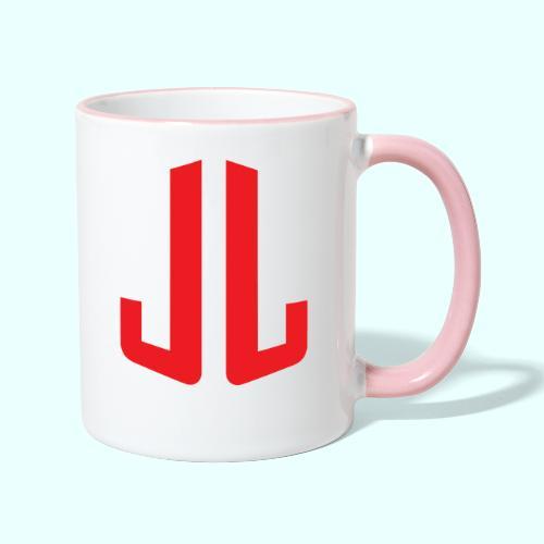 JL + NEXT LEVEL BODY - Kaksivärinen muki