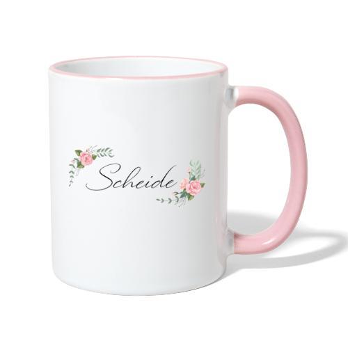 Scheide - Tasse zweifarbig