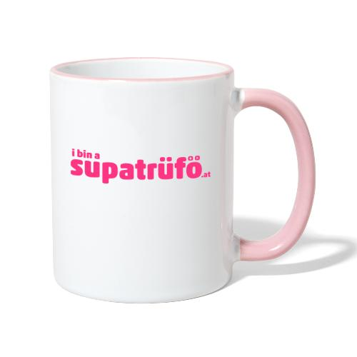 supatrüfö - Tasse zweifarbig