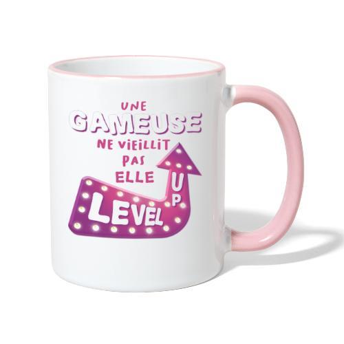 Gameuse Rose - Mug contrasté
