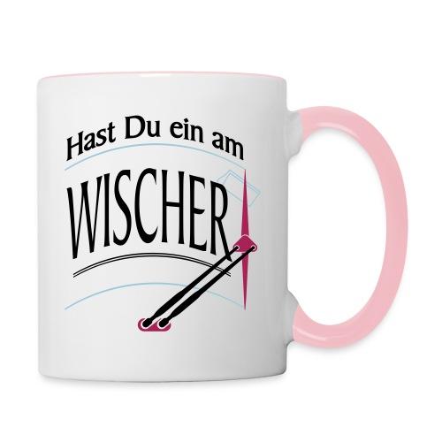 Hast Du ein am Wischer - Bus Truck wiper slang - Tasse zweifarbig