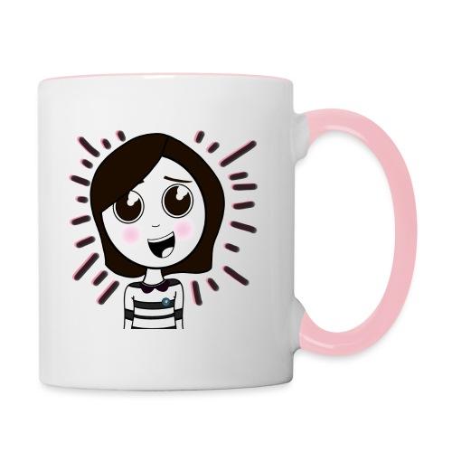 Happy girl ! - Mug contrasté
