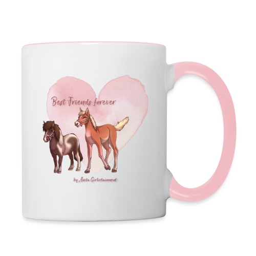 Best friends forever Anita Girlietainment - Tasse zweifarbig