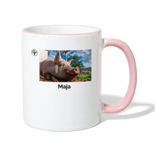 Maja - Tofarget kopp