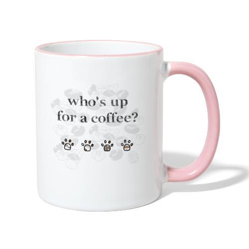 Coffee and Cat addict! - Mug contrasté
