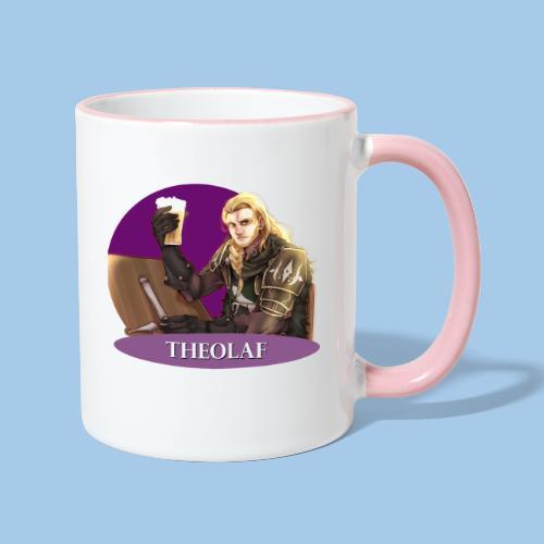 Theolaf - Lord of Grey Ivies - Contrasting Mug