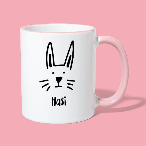 Hasi - Tasse zweifarbig