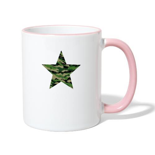 CamouflageStern - Tasse zweifarbig