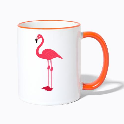 flamingo - Contrasting Mug