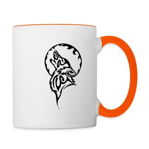 Wolf Design - Contrasting Mug