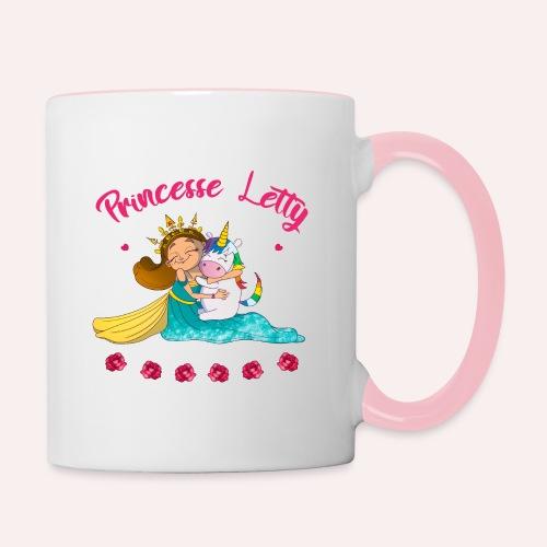 Princesse Letty - Mug contrasté