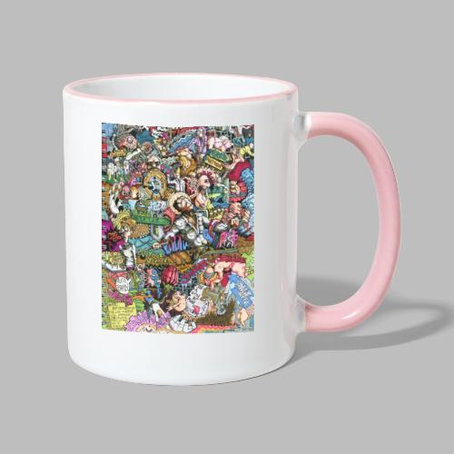 sketches001 - Tasse zweifarbig
