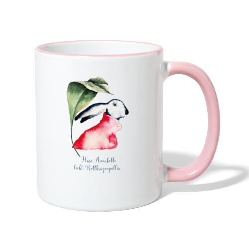 Annabel Osterhäsin - Tasse zweifarbig