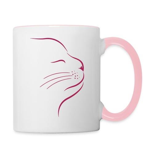 Vorschau: Catstyle - Tasse zweifarbig