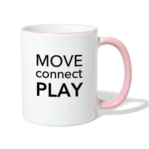 Move Connect Play - AcroYoga International - Contrasting Mug