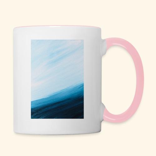 Turnaround hochformat - Tasse zweifarbig