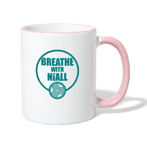 Breath with Niall Tshirt - Contrasting Mug