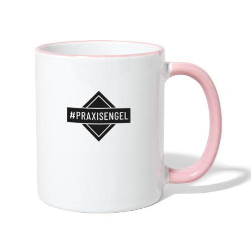 Praxisengel (DR19) - Tasse zweifarbig