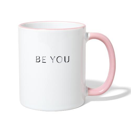 BE YOU Design - Tofarvet krus