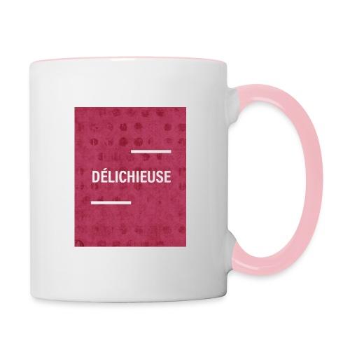 Délichieuse - Mug contrasté