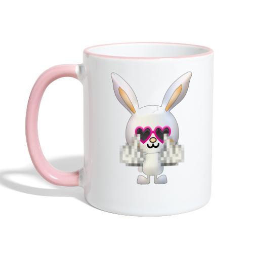 Lapin F*** - Mug contrasté