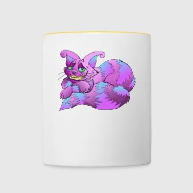 Magiczny Kot - Kubek dwukolorowy