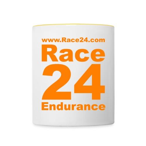 Race24 Logo in Orange - Contrasting Mug
