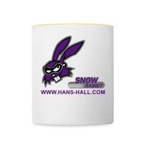 SnowRabbit - Tasse zweifarbig