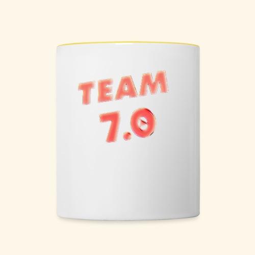 Pop art team 7 - Contrasting Mug