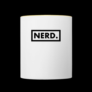 Nerd Print - Kaksivärinen muki
