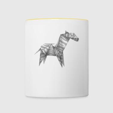 origami - Kaksivärinen muki