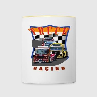Truck Racing 1 - Tasse bicolore