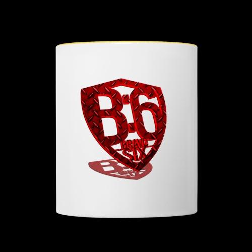 BRAVOSIX 3D Redpoint - Tasse zweifarbig