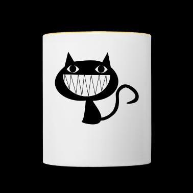 Cheshire Cat | pomysł na prezent - Kubek dwukolorowy