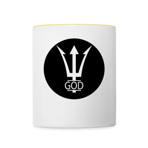 INVERTED GOD LOGO BASIC - Tasse zweifarbig