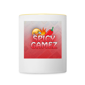 improved spicy - Contrasting Mug