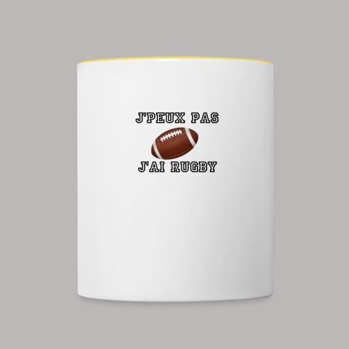 rugby - Mug contrasté