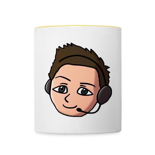 charliefacebig23 copy - Contrasting Mug