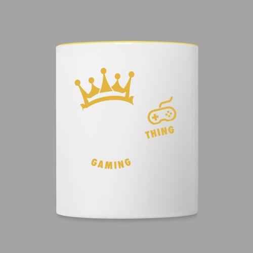 That King Thing Logo - Contrasting Mug