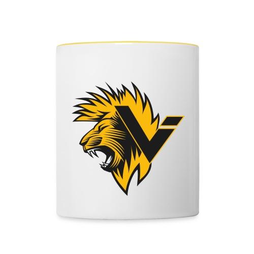 Vination Lion - Tasse zweifarbig