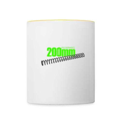 roc200mm - Tasse zweifarbig