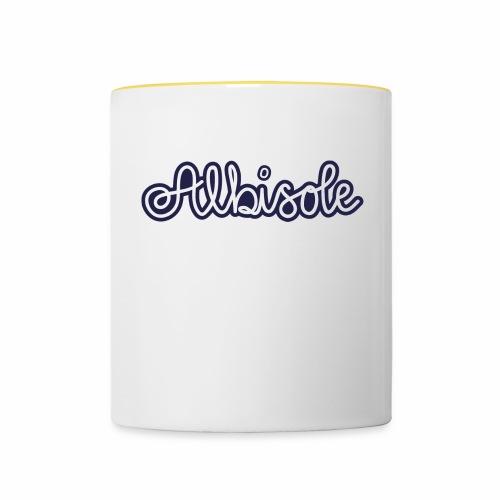albisole - Tasse zweifarbig