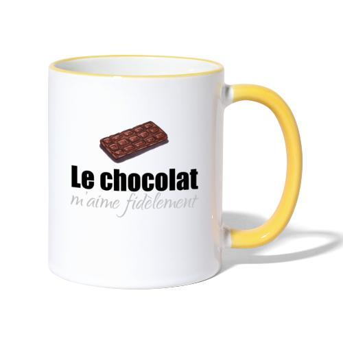 le chocolat maime - Mug contrasté
