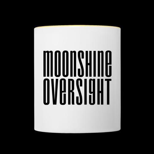 Moonshine Oversight noir - Mug contrasté