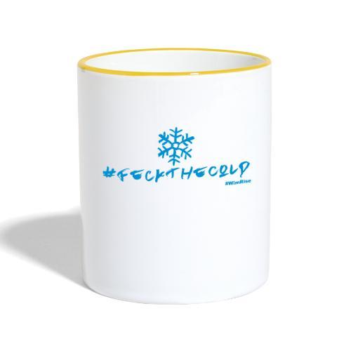Feck The Cold - Contrasting Mug