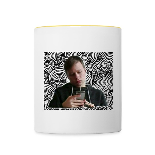 Anton Kunkel - Tasse zweifarbig